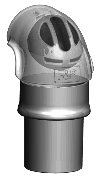 F&P Zest Q Elbow & swivel connector